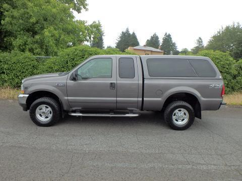 2002 Ford F-250 4 Door Extended Cab Truck