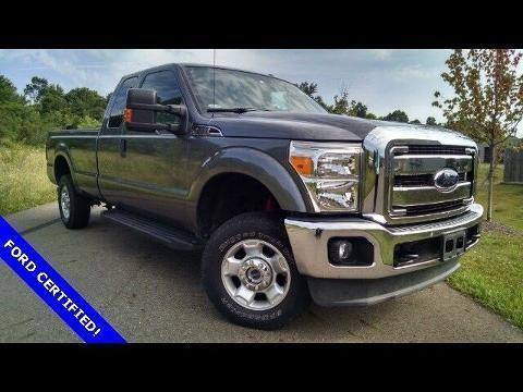 2012 Ford F-250 4 Door Extended Cab Truck