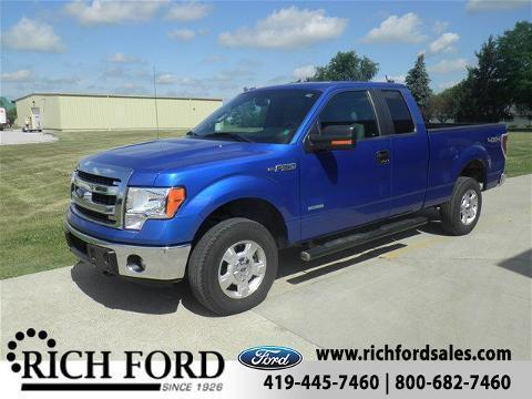 2013 Ford F-150 4 Door Extended Cab Truck