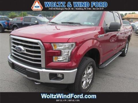 2015 Ford F-150 4 Door Extended Cab Truck