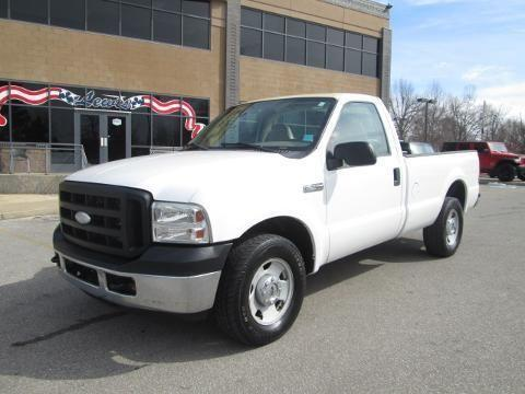 2006 FORD F-350 2 DOOR LONG BED TRUCK