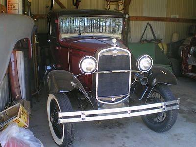 1931 Ford Model A 2 door sedan good condition Resotred