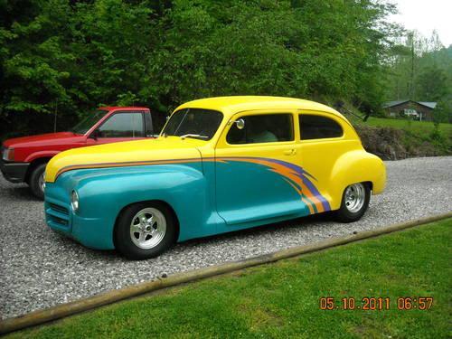 1948 plymouth deluxe 2 door sedan streetrod for sale in for 1948 plymouth 2 door sedan
