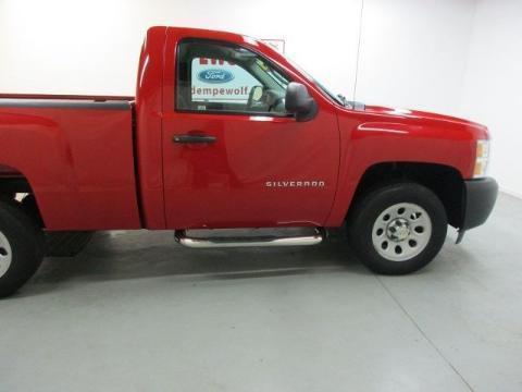2012 Chevrolet Silverado 1500 2 Door Short Bed Truck