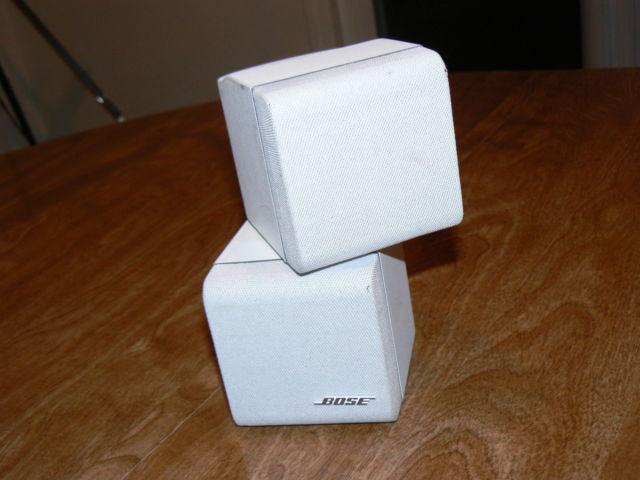 Bose LifeStyle Acoustimass Double Cube Speaker(White)x1