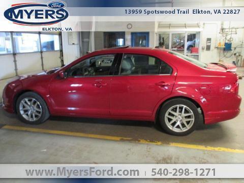 2010 Ford Fusion Front-Wheel Drive 4 Door Sedan