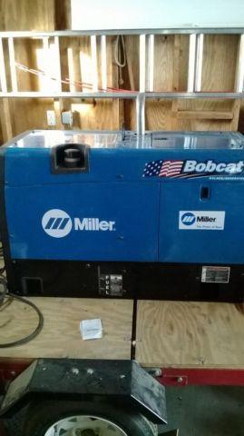 Miller Bobcat 250 engine driven welder - $3500