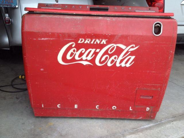 Vintage Westinghouse Coca-Cola Dry Cooler