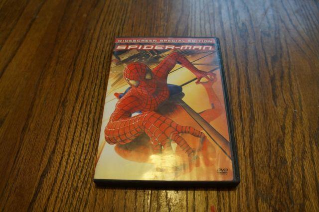 Spider Man 1, 2, 3 Dvd and Blu Ray