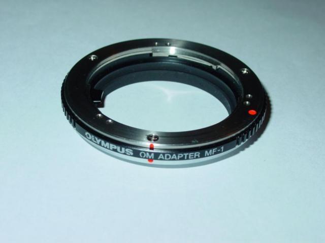 Olympus OM Adapter MF-1 OM to E-5, E-30, E-3, E-620, E-600 DSLR Japan