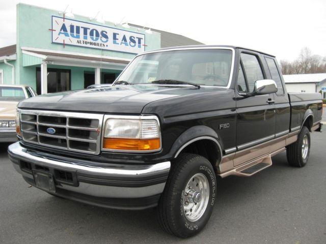 1996 ford f150 4x4 extended cab eddie bauer very nice truck for sale in madison virginia. Black Bedroom Furniture Sets. Home Design Ideas