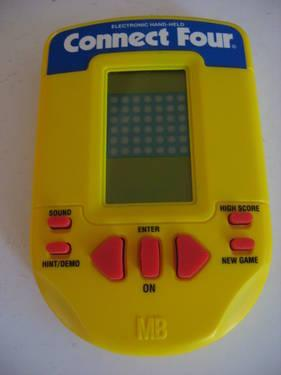 Connect Four Handheld Electronic Game