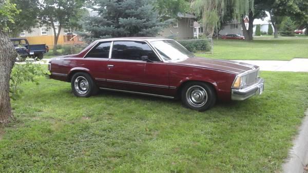 1980 Chevrolet Malibu For Sale in Elk Point, South Dakota 57025