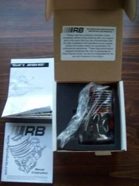 RB CONCEPTS WORLDS S2 .21 OFF ROAD ENGINE 100% MINT IN BOX OPENED FOR