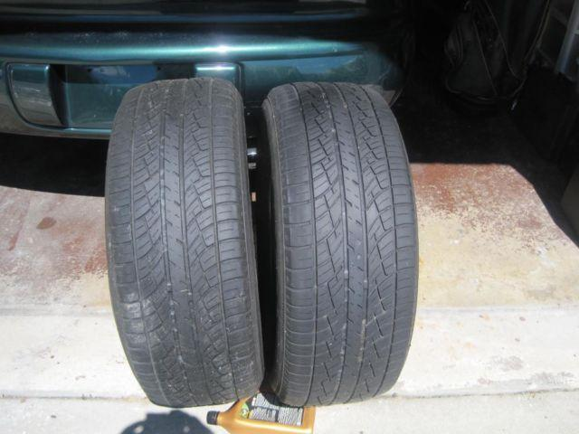 Pair of DELTA ESTEEM 235-60-R16 TIRES