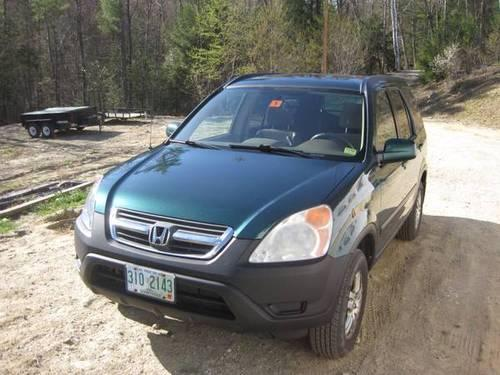 2002 HONDA CRV EX AWD