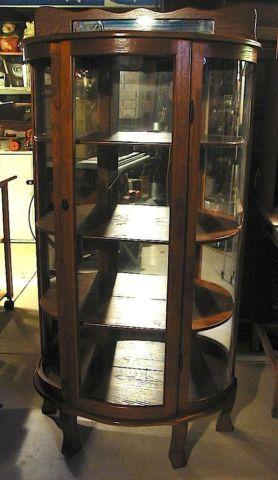 LARGE LIGHT HUTCH EXC. COND.