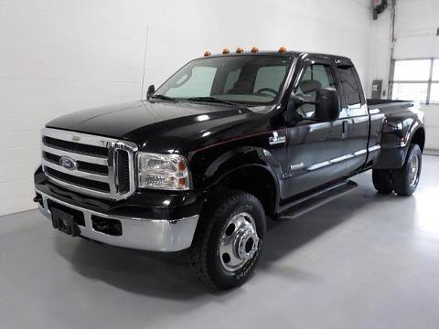 2005 FORD F-350 4 DOOR EXTENDED CAB LONG BED TRUCK