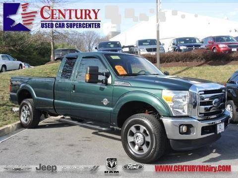 2011 FORD F-350 EXTENDED CAB PICKUP