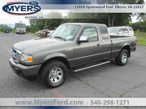 2008 Ford Ranger 4WD 2 Door Extended Cab Short Bed Truck
