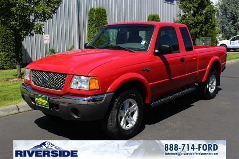 2003 Ford Ranger 4 Door Extended Cab Short Bed Truck