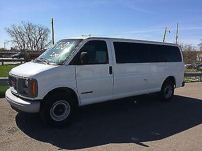 2001 GMC Savanna 3500 Extended Van, 6.5L Diesel