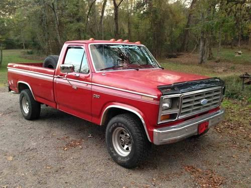 1983 ford f150 4x4 for sale in dover arkansas classified. Black Bedroom Furniture Sets. Home Design Ideas