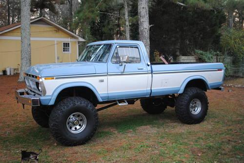 lifted 1976 f250 highboy for sale in rome georgia classified. Black Bedroom Furniture Sets. Home Design Ideas