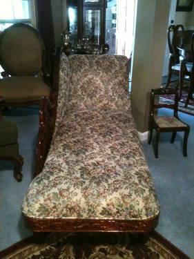 SHOW ROOM CONDITION FAINTING COUCH
