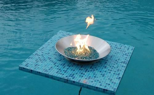 Aqua Fire Pit *A Floating Fire Pit for your pool*