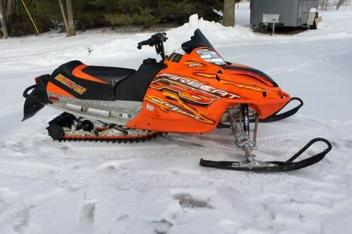 Arctic Cat Sno Pro 2005 Firecat 600 Low Miles