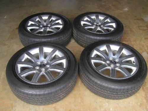 OEM 2010 FORD FLEX WHEELS/HANKOOK TIRES