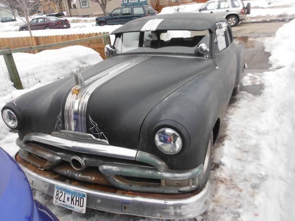 1953 Pontiac Rat Rod trade for 48054 chevy/gmc 5-window truck