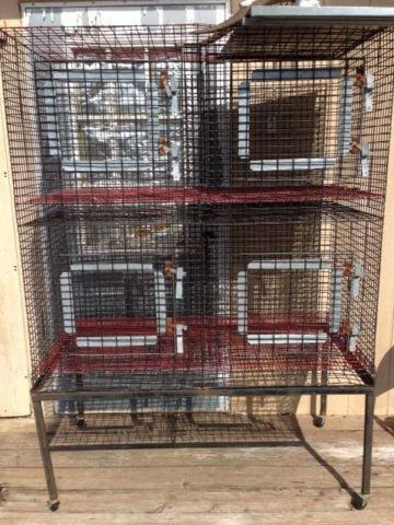 2 pet cages for sale