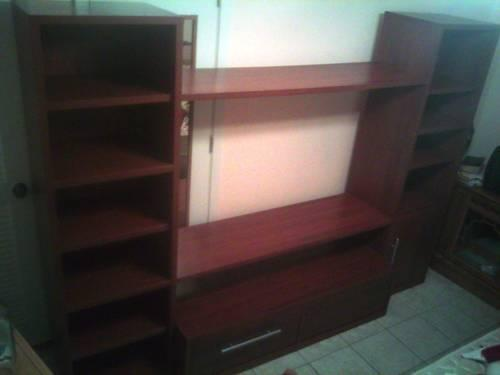 Ikea Cherry Wood Entertainment Center for Sale or Trade -REDUCED!