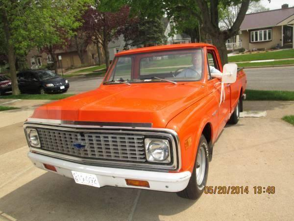 1971 Chevy C-10 1/2 Ton Pick-Up for sale (WI) - $12,500
