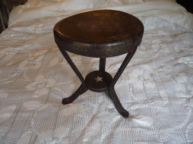 Vintage Star Milking Stool from 1910's- 20's