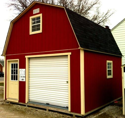 Cottage Shed Sheds built on your lot from 8x10 to 12 x 24
