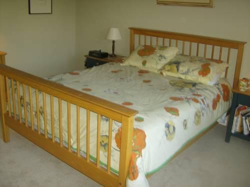 Mission style bedroom set from Holder Furniture