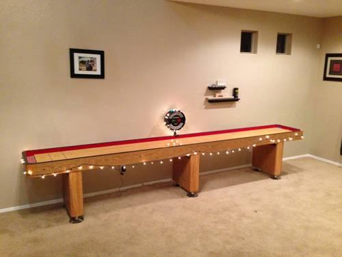 ShuffleBoard Table- 14' full bar length