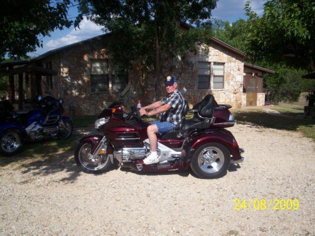 2006 Honda Goldwing Trike for Sale in Ingram, Texas