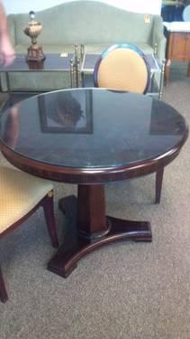 ~*~Yellow Wood W/ Commercial Grade Lacquer Finish Table~*~