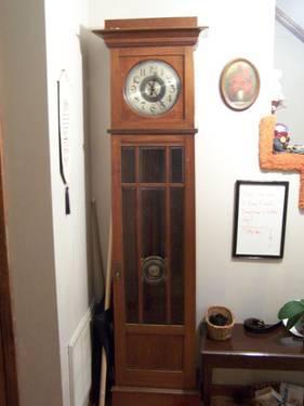 Antique German Grandfather Clock