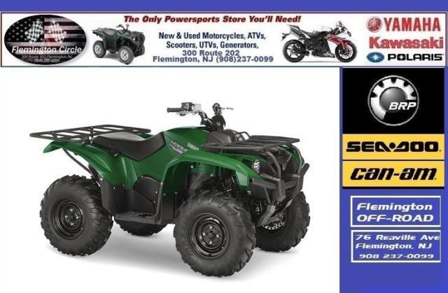 2016 Yamaha Kodiak 700 Green - SALE