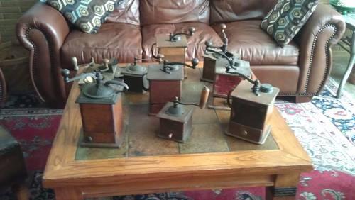 10 Coffee Mills ~~~ Grinders