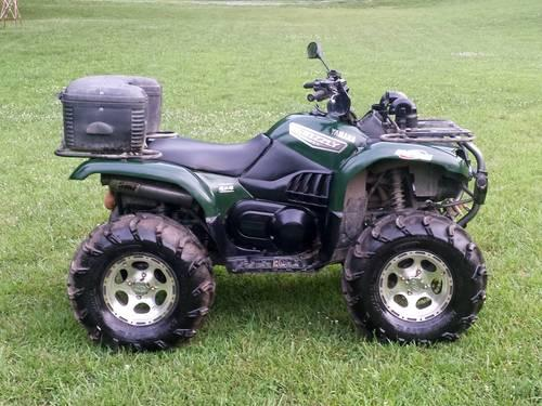 2007 yamaha grizzly 660 for sale in king north carolina classified. Black Bedroom Furniture Sets. Home Design Ideas