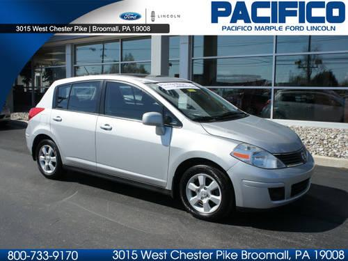 2007 nissan versa hatchback 1 8 s for sale in broomall pennsylvania classified. Black Bedroom Furniture Sets. Home Design Ideas