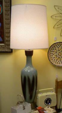 MID-CENTURY MODERN RETRO HEART LAMP