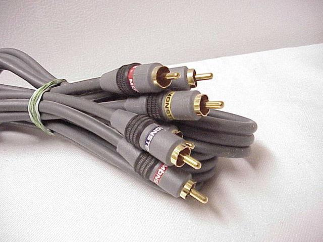 MONSTER CABLE INTERLINK 100 STANDARD HIGH PERFORMANCE AUDIO VIDEO