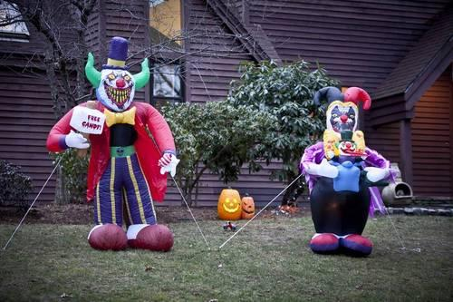 Halloween Yard and Home Decor